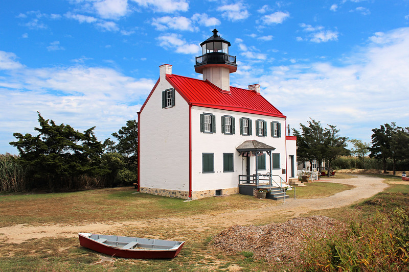 William W. Yarrington was the first keeper of the Maurice River Lighthouse and was paid an annual salary of $350, but he was replaced two weeks later with a new Keeper, Francis Elberson, who would serve until August 1853.