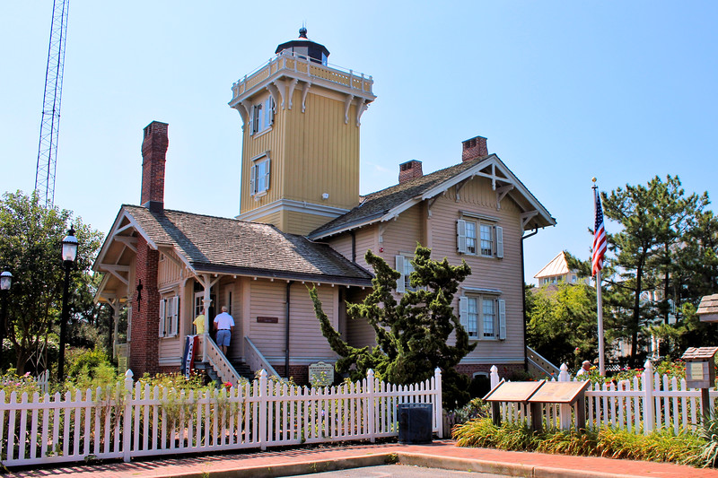 Hewitt is also credited with holding the first church services on Five Mile Island in the parlor of the lighthouse every Sunday until a church was built