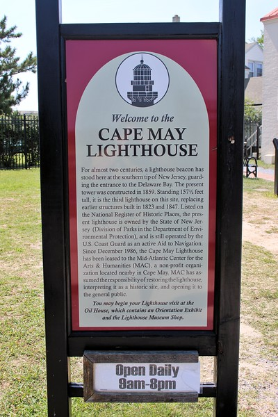The light was discontinued May 1, 1847 and the construction of a second tower commenced.