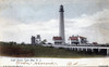 An old postcard view of the Cape May Lighthouse