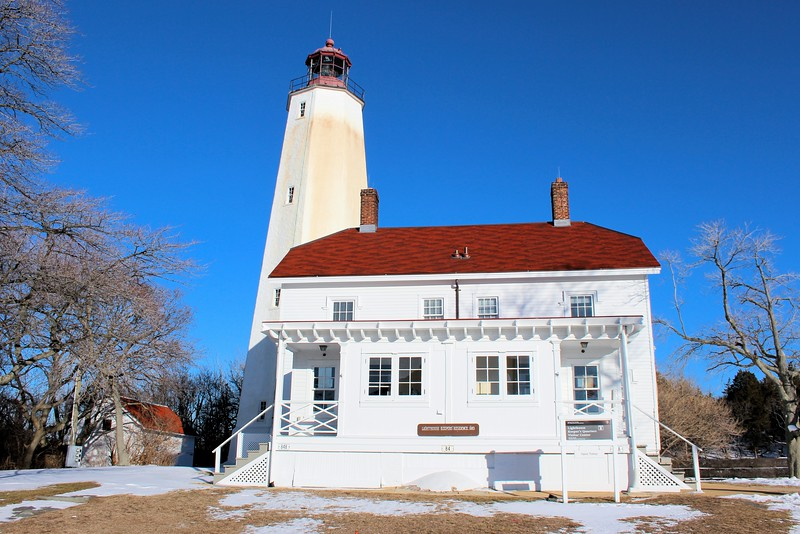 In 1964 as part of its 200th birthday celebration, the Sandy Hook Lighthouse was designated a National Historic Landmark.