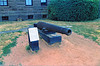 In 1841 a cannon was found buried on the lighthouse grounds. It was placed in front of the Keepers dwelling where it remains to this day. It is thought the cannon is of Dutch or Danish origin, but no one is sure where the cannon came from or why it was buried at the lighthouse grounds. This has led to speculation over the years that it may be from a pirate ship, or part of Revolutionary War defenses but no one truly knows the answer.