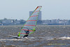Windsurfing on Lakes Bay West Atlantic City New Jersey May 23, 2009