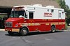 Cherry Hill Rehab 85<br /> 2004 Freightliner/UBC/Custom Food<br /> Canteen & Rehab unit-staffed by Volunteers.