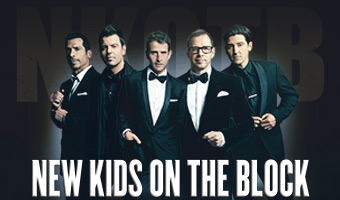 "New Kids On The Block ""The Package"" Tour"