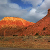 The rock in Abiguiu and especially Ghost Ranch is composed of ancient layers that once were the bottom of a sea.