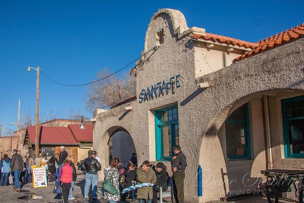 Santa Fe - A Railrunner Day Trip