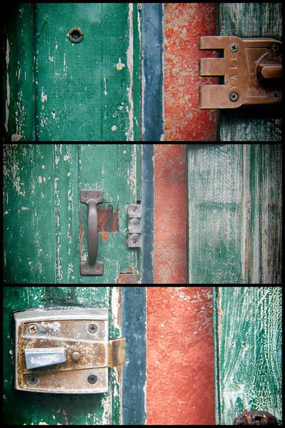 Bourbon Street Door
