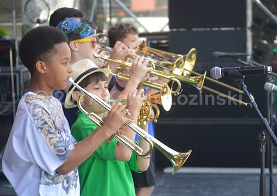 Shamarr's Kids at Jazz Fest