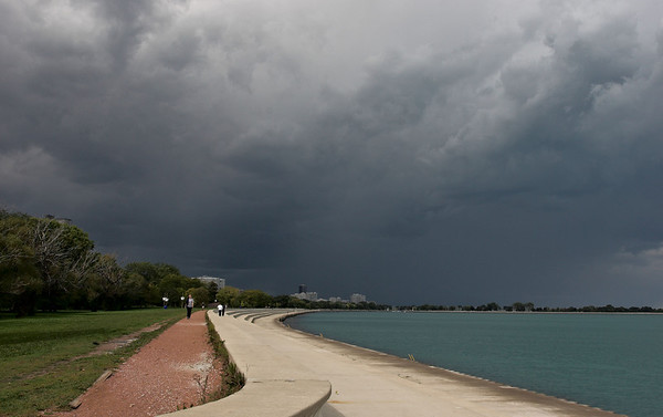 Lakefront Storm Approaching