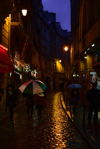 Rainy Evening in the Latin Quarters