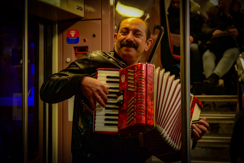 Paris Subway Music for All