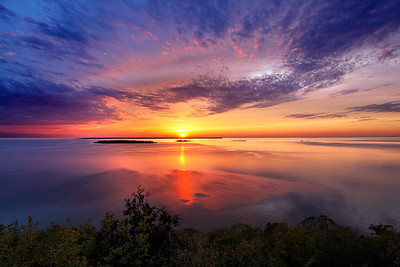 Over The Ledge - Sven's Bluff  (Peninsula State Park - Door County)