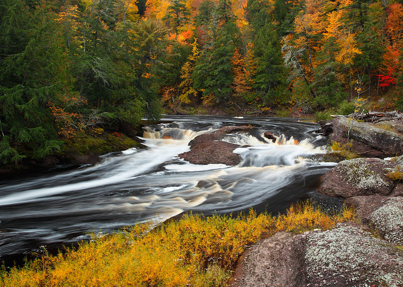 A River Runs Through - Unamed Falls (Black River Scenic Byway - Ottawa National Forest)
