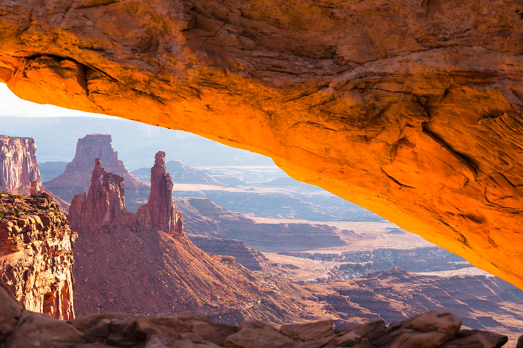 Washer Woman and Monster Tower taken from Mesa Arch