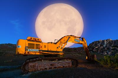 O Deere full moon