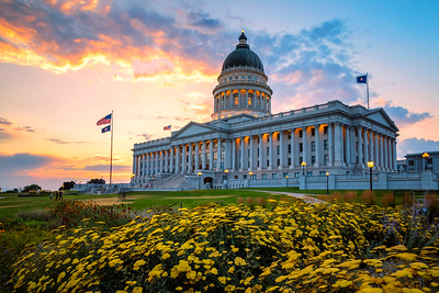 Playing at the Utah State Capitol