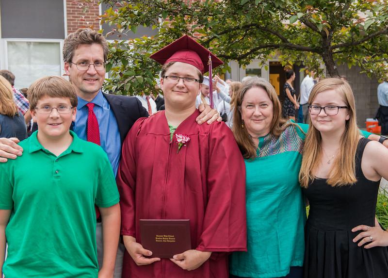 John graduated from Hanover High School!