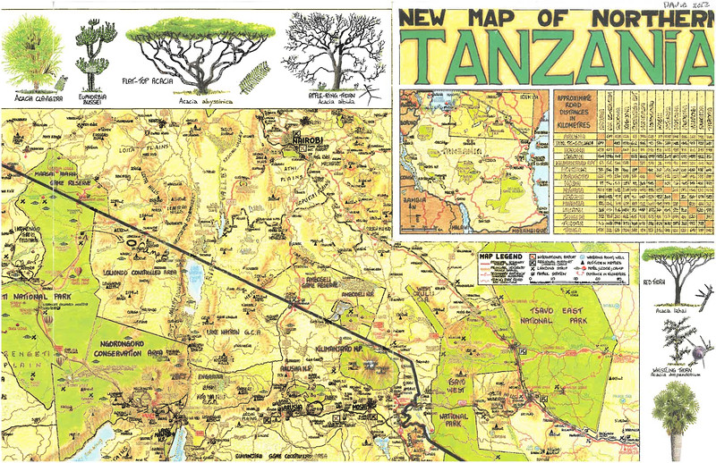 In July we joined other family on a safari across northern Tanzania.