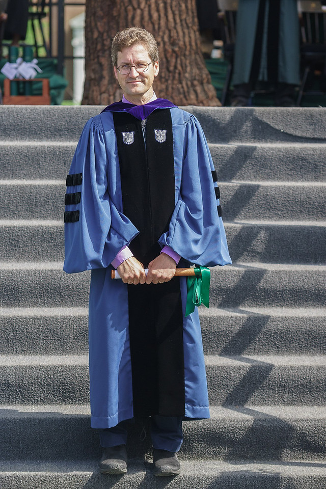 David stepped down from his six-year post as associate dean shortly after serving as Head Faculty Marshal for Commencement at Dartmouth.