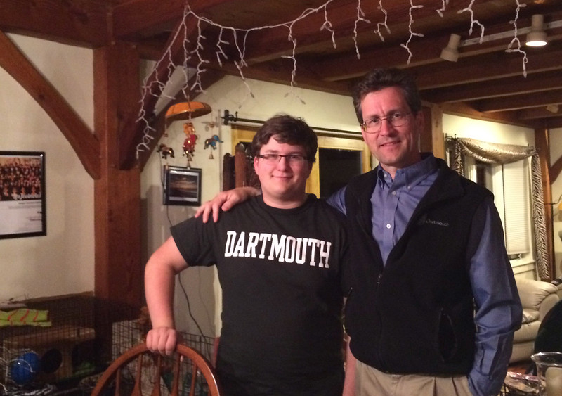 John completed the college admissions process with a decision to join the Class of 2019 at Dartmouth!