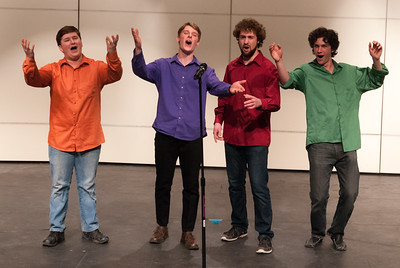 """The """"Key of H"""" truly hit its stride, here performing at """"Acappallooza"""", Hanover High School."""