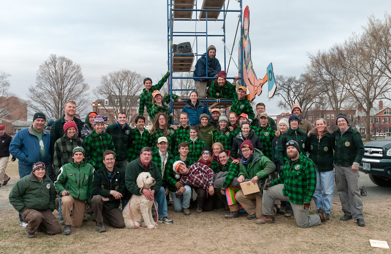 David joined dozens of other Dartmouth alumni and students for the Woodsmen's Weekend at Dartmouth in late April.