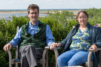 David and Pam enjoyed their 25th wedding anniversary on Cape Cod; Provincetown, MA.