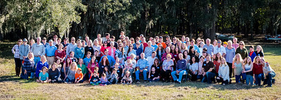 Over 118 people gathered for the biannual Jenkins-Quante Thanksgiving Schutzenfest 2016 at Wadmalaw Island, SC. Photo by Jack Kotz.