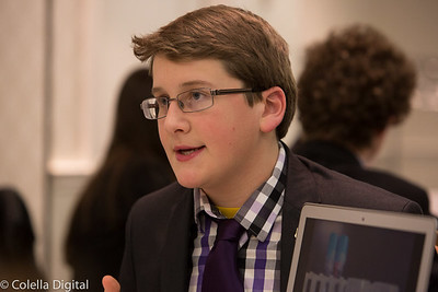 Andy presented his research at the American Junior Academy of Science meeting in Washington DC.