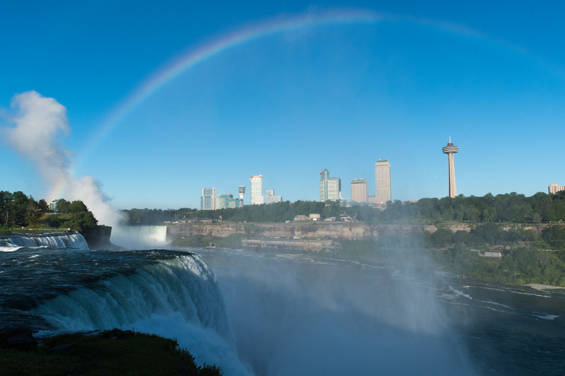David had a conference in Niagara and enoyed photographing the falls.