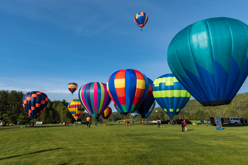 The Post Mills Balloon Festival is always a colorful experience.