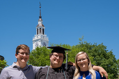 John graduates from Dartmouth - with Andy and Mara.