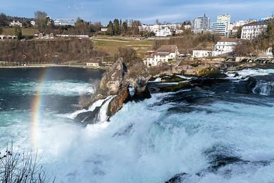 The Rheinfall.