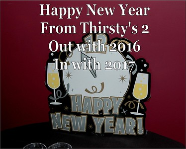 2016 New Years Party at Thirstyt's 2