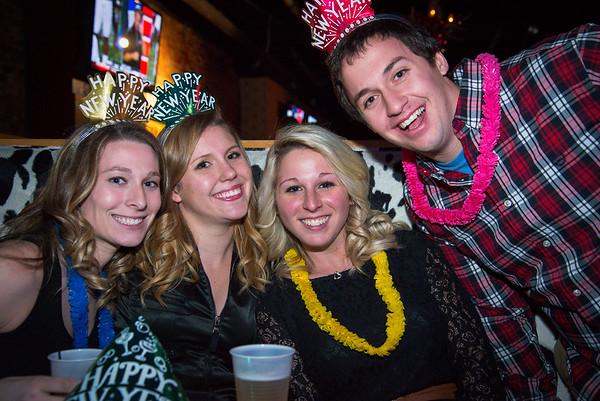 New Years Eve 2014 at Johnny Utah's