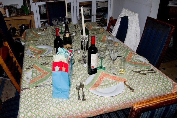 Dinner with Friends on Remsen Street (15 Photographs)