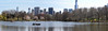 Panorama Central Park Lake, Early Spring