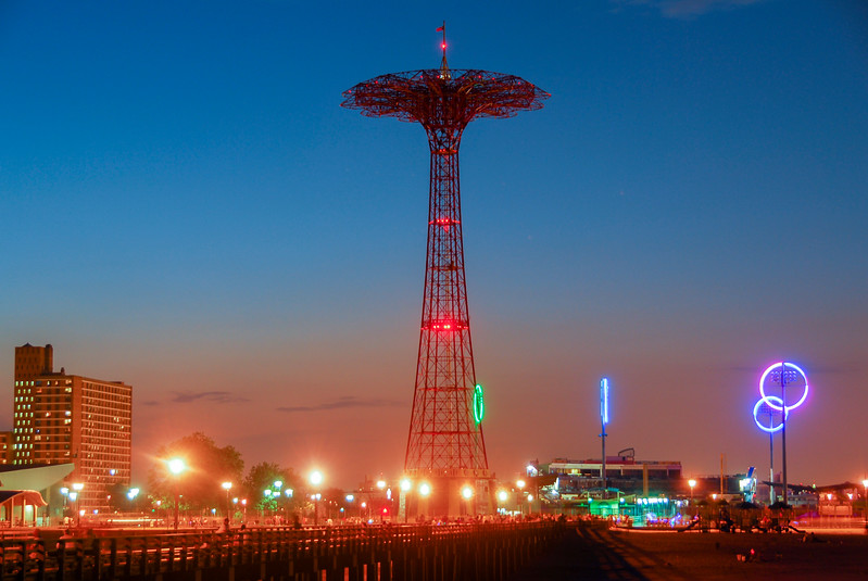 Parachute Jump - Brooklyn, New York