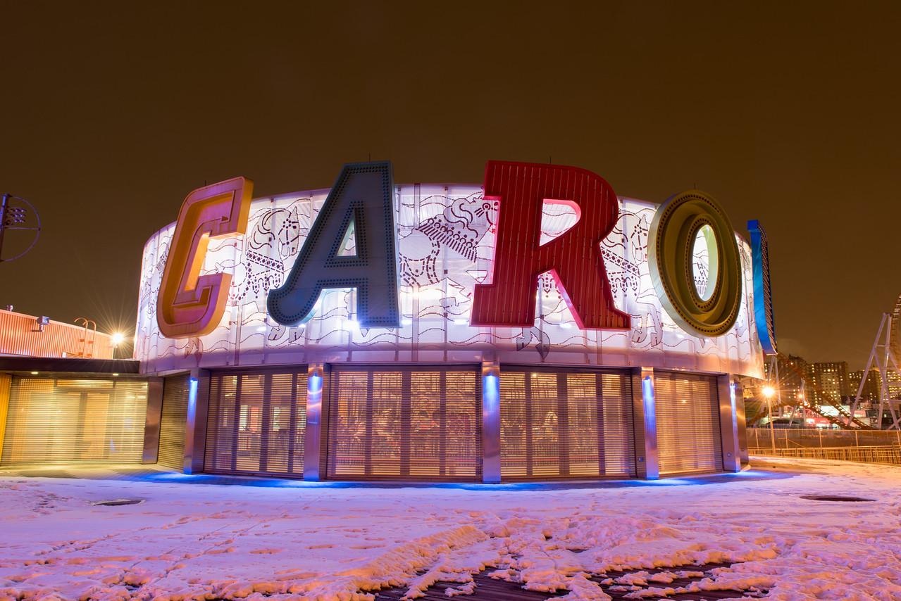 Carousel at Coney Island, Brooklyn