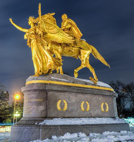 William Tecumseh Sherman Memorial, New York
