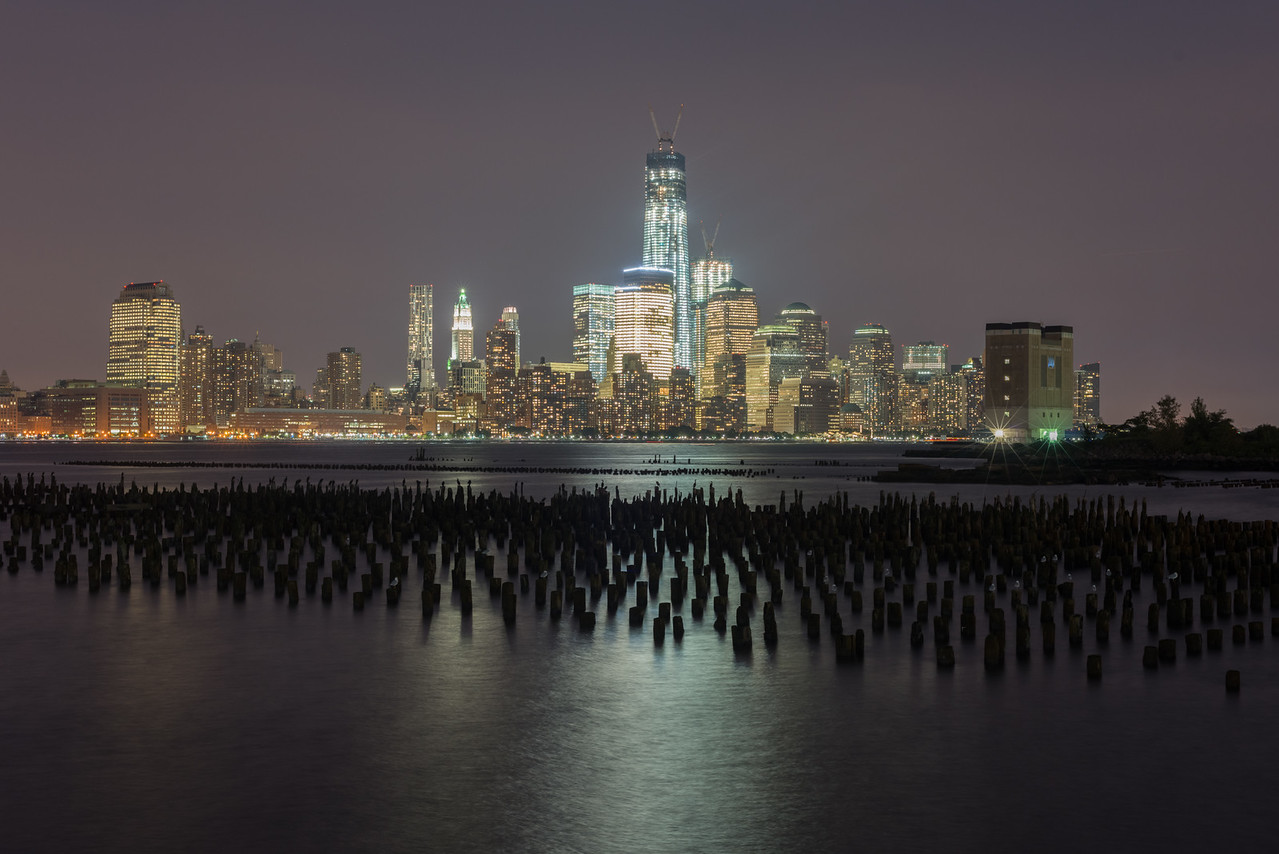 New York Skyline from Jersey City