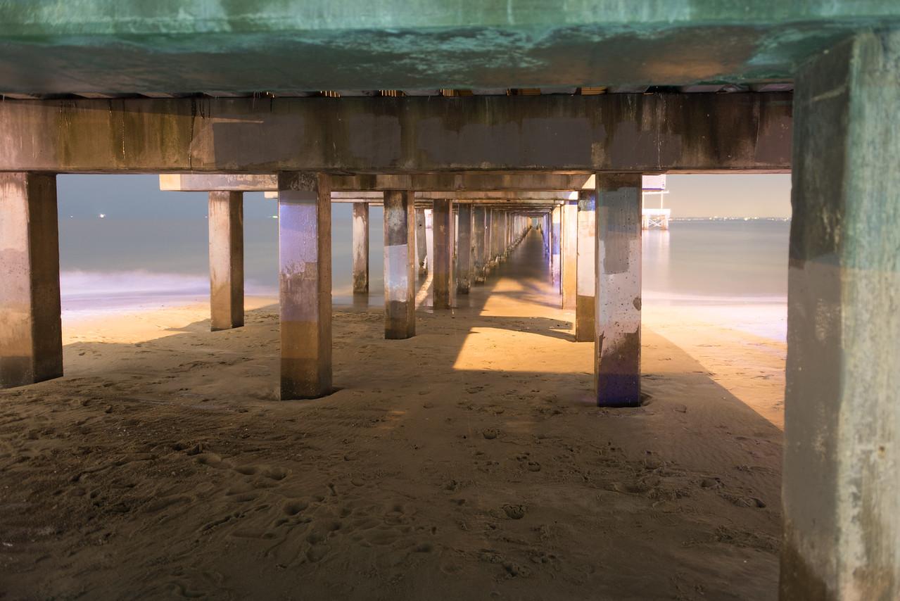 Underside Pier, Brooklyn, NY