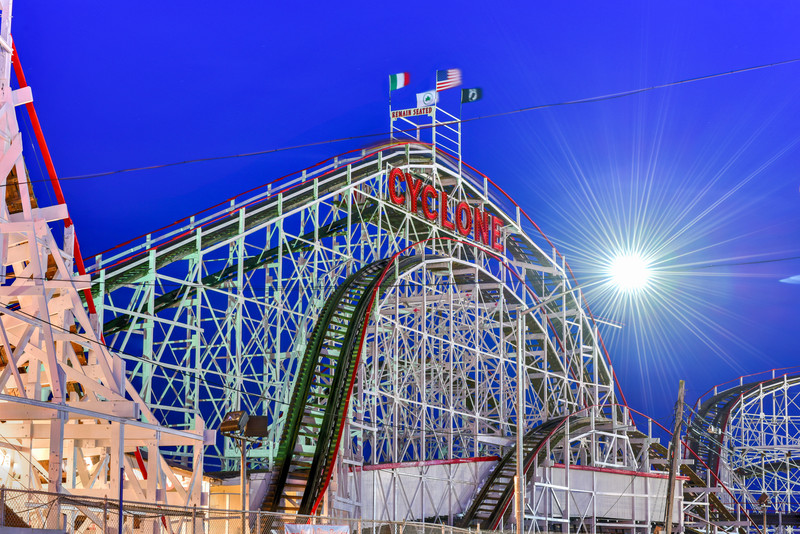 Cyclone Rollercoaster - New York City