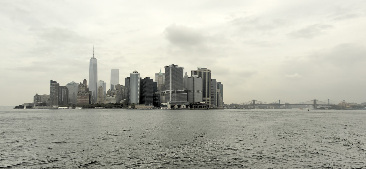 View of Downtown Manhattan, New York