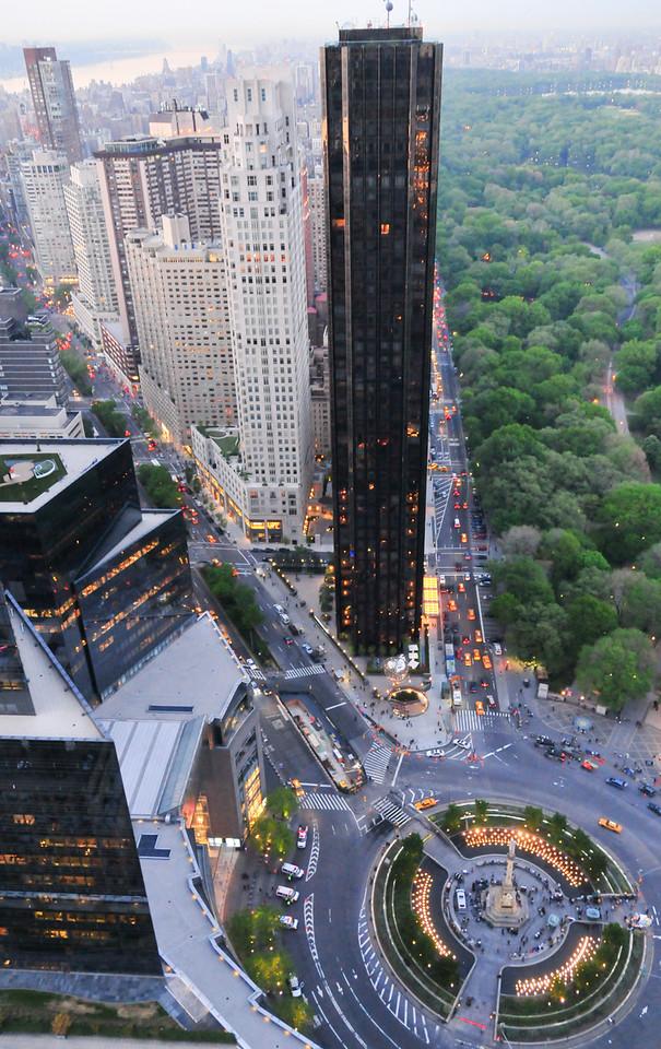 Columbus Circle View