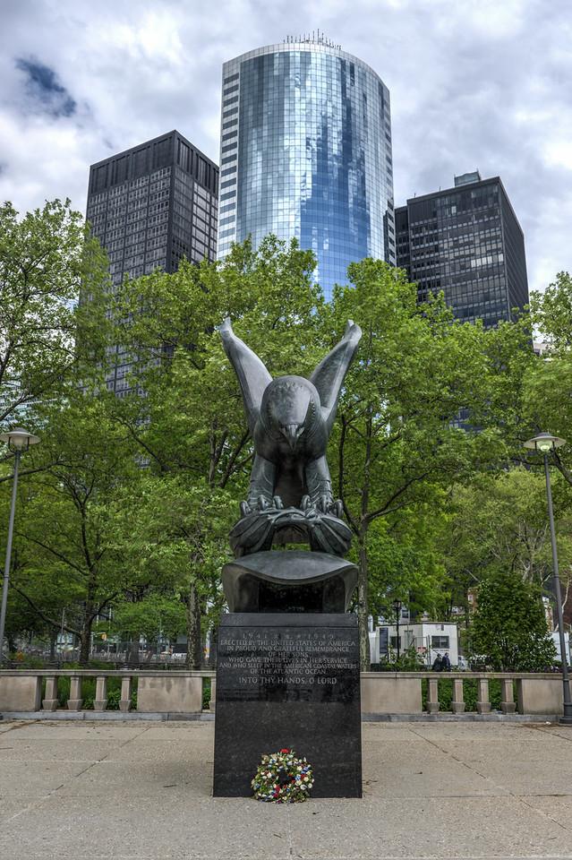 East Coast Memorial, Battery Park, New York