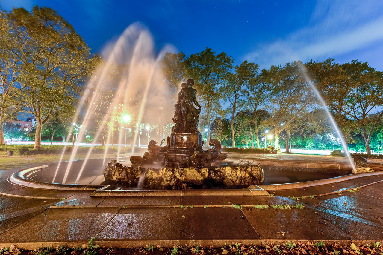 Bailey Fountain - Brooklyn, New York