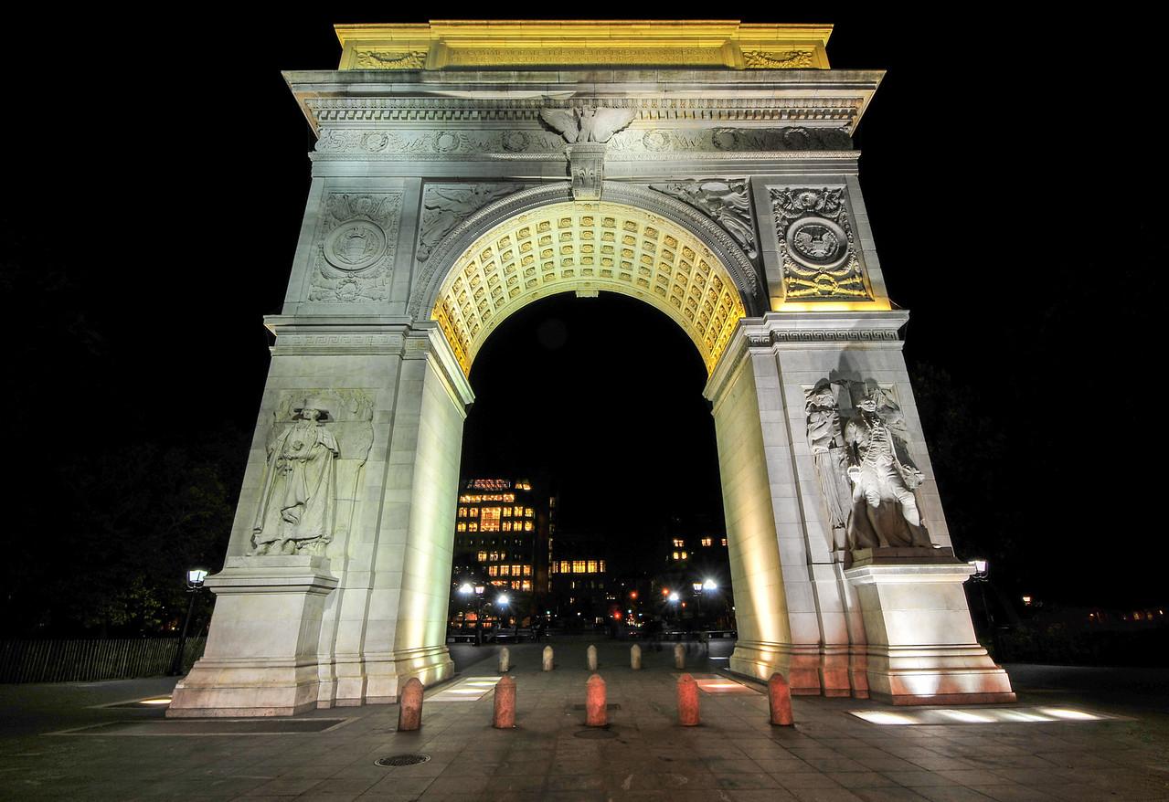 Washington Square Arch in New York City