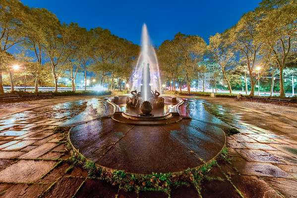 Bailey Fountain - Brooklyn, New York